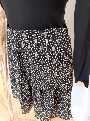 VMWAILEY HW SHORT SKIRT EXP GA Black/WAILEY