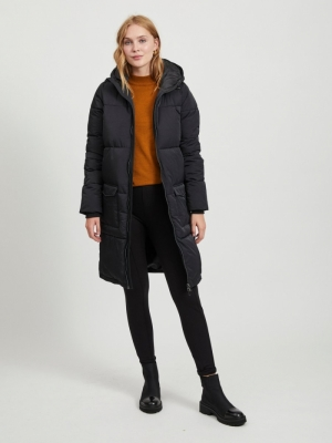 OBJZHANNA L-S LONG JACKET NOOS Black