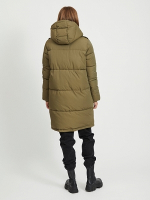 OBJZHANNA L-S LONG JACKET NOOS Burnt Olive