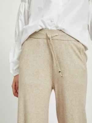 VIRIL KNIT RWRX STRAIGHT PANTS Natural Melange