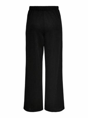 ONLNEW QUEEN GLITTER PANT JRS Black/BLACK MET