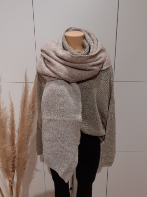 PCPYRON LONG SCARF LUREX NOOS Ginger Snap/W M
