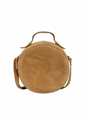 ONLALISON ROUND LEATHER CROSSO Toasted Coconut