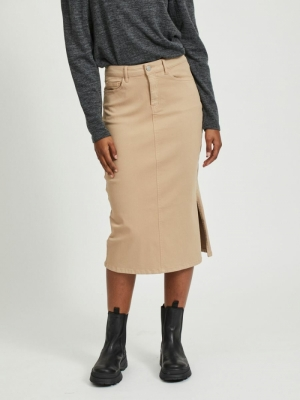 VIAMY RW PENCIL SKIRT logo