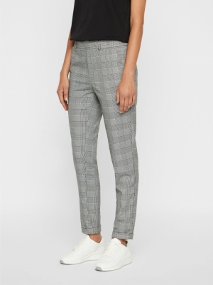 VMMAYA MR LOOSE CHECK PANT NOO logo
