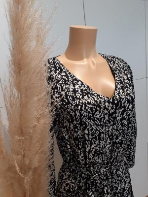 JDYMELVIN LIFE 7-8  LONG DRESS Black/CLOUD DAN