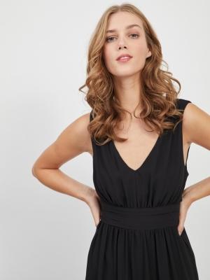VIMILINA LONG DRESS-SU - NOOS Black