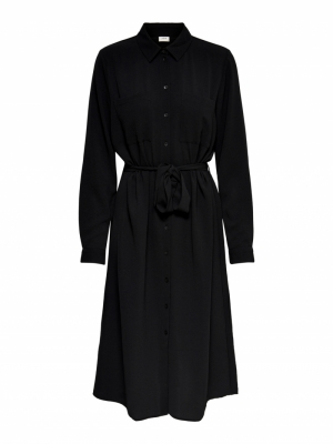 JDYPINTO L-S MIDI SHIRT DRESS logo