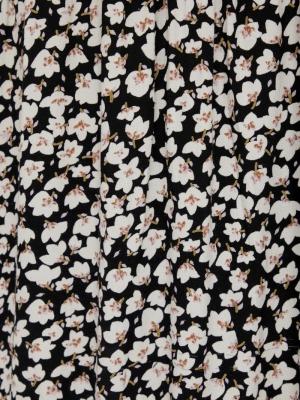 PCIDA LS DRESS D2D Black/WHITE/PUR