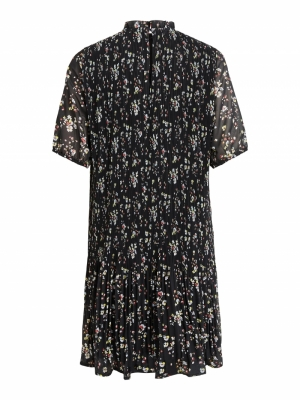 VIBLOSSOMS 2-4 DRESS-PB Black/W CD/BURN