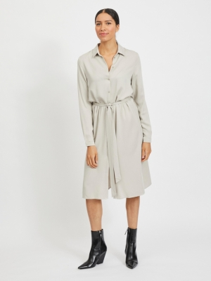 VIDANIA BELT L-S SHIRT DRESS-S logo