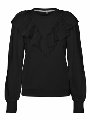 VMNATALIE L-S COLLAR SWEAT FD2 logo