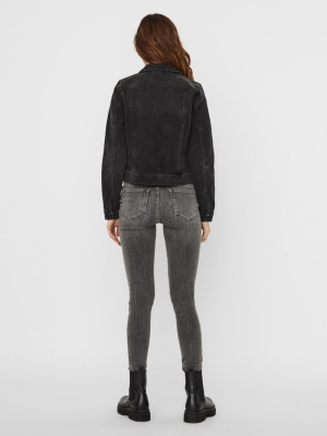 VMFAITH LS SLIM DNM JACKET MIX Black
