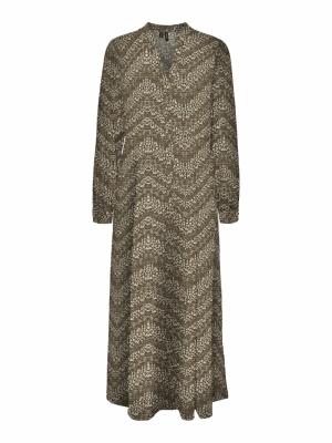 VMGAJA L-S  ANCLE SHIRT DRESS logo