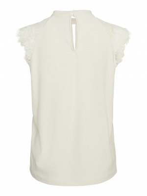 VMMILLA SL LACE TEE GA COLOR Birch