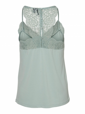 VMANA S-L LACE TOP COLOR Jadeite