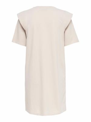 ONLROCKY S-S SHORT DRESS JRS Pumice Stone