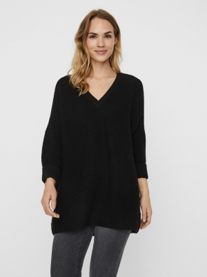 VMLEANNA 3-4 V-NECK LONG BLOUS logo