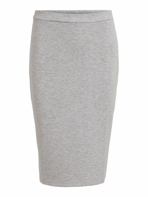VISIF SLIT PENCIL SKIRT logo