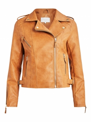 VIMICCAS COATED BIKER JACKET-S logo