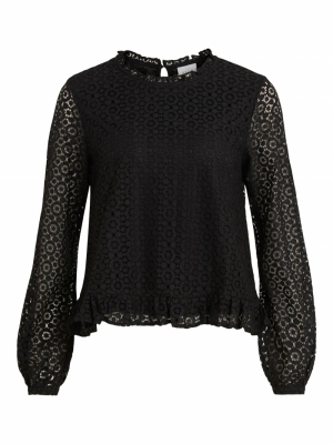 VIJANIA L-S TOP Black