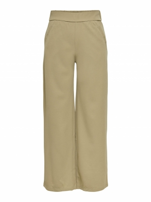 JDYLOUISVILLE CATIA WIDE PANT Lead Gray