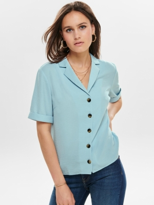 ONLSKY S-S SHIRT SOLID NOOS WV Skyway