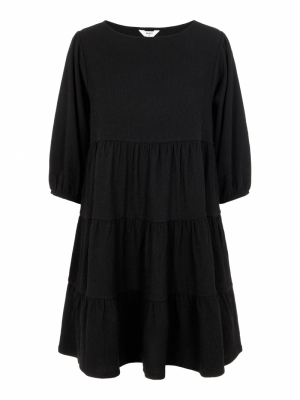 OBJSIF 3-4 DRESS 113 Black