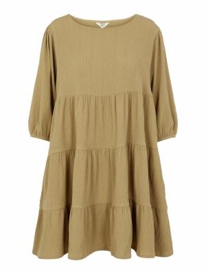 OBJSIF 3-4 DRESS 113 Khaki