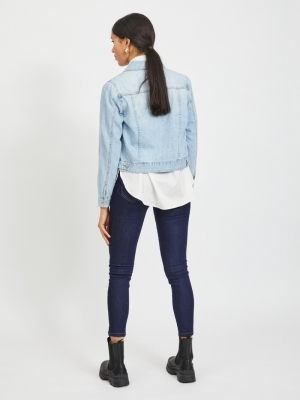 VIROSABELL DENIM JACKET - NOOS Light Blue Deni