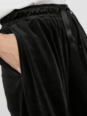 VMATHENA VELVET H-W PANT EXP Black