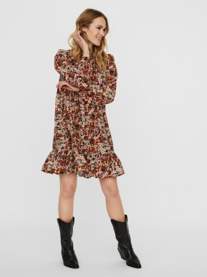 VMDITTIE L-S SHORT DRESS FD20 Black/DITTIE