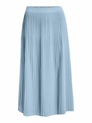 VIMILINA HW MIDI SKIRT-SU - FA Ashley Blue