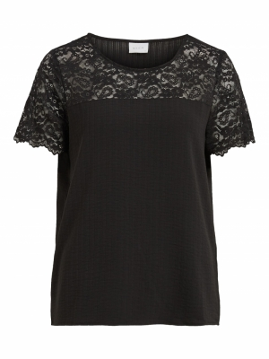 VILOVIE S-S LACE TOP-SU - NOOS logo