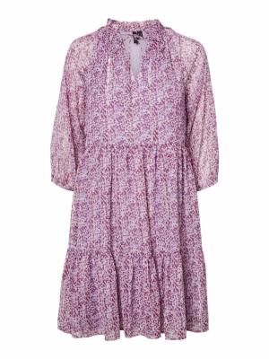 VMLULU 3-4 TIE SHORT DRESS EXP Pastel Lilac/LU