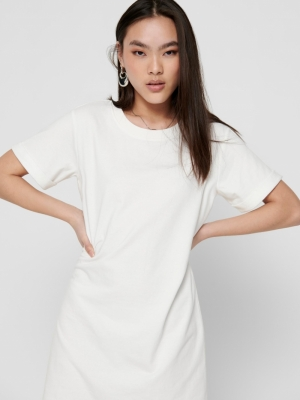 JDYIVY LIFE S-S DRESS JRS NOOS Cloud Dancer