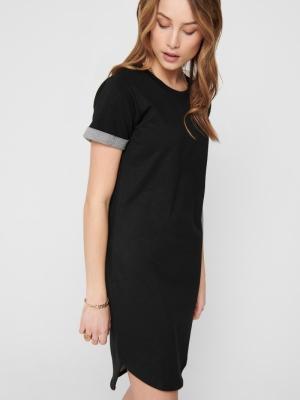 JDYIVY LIFE S-S DRESS JRS NOOS Black
