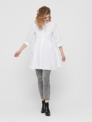 ONLDITTE LIFE 3-4 SHIRT DRESS White