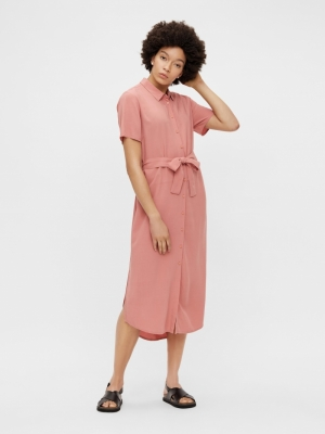 PCCECILIE SS LONG DRESS NOOS B logo