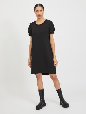 VIJERA S-S DRESS Black