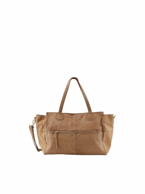 PCTALANA LEATHER DAILY BAG FC Toasted Coconut