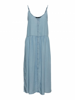 VMSILLA SL STRAP CALF DRESS GA Light Blue Deni