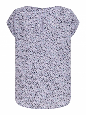 ONLVIC SS AOP TOP NOOS PTM Chinese Violet/