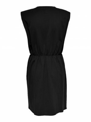 ONLJEN LIFE S-L SHOULDER DRESS Black