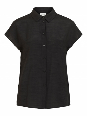 VIANNE S-L SHIRT Black