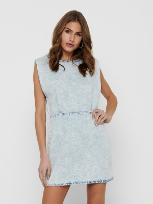 ONLSAGA SHOULDER SL DNM DRESS logo