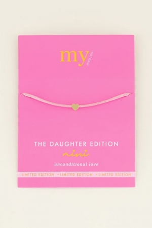 Dochter armband mini los logo