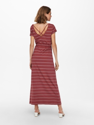 ONLMAY LIFE S-S STRING MAXI DR Apple Butter/CL
