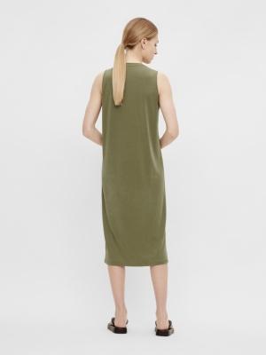 OBJANNIE S-L DRESS SC Deep Lichen Gre