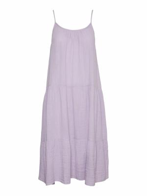 VMPRIM SINGLET CALF DRESS VIP Pastel Lilac